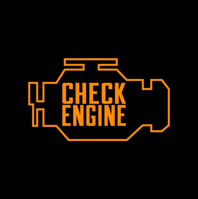 the check engine light santos auto service company 513 761 7881. Black Bedroom Furniture Sets. Home Design Ideas